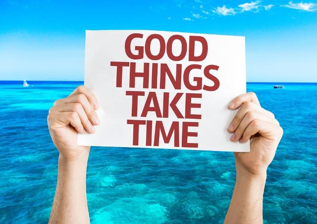 סבלנות - זאת מילת המפתח החשובה ביותר